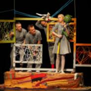<i>PO NITCE DO KŁĘBKA</i>, Teatr Lalek Banialuka im. Jerzego Zitzmana, Bielsko-Biała