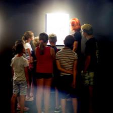 <i>LABORATORIUM NIEZIEMSKIEGO ŚWIATŁA</i>, Galeria Ściana Sztuki Dziecka